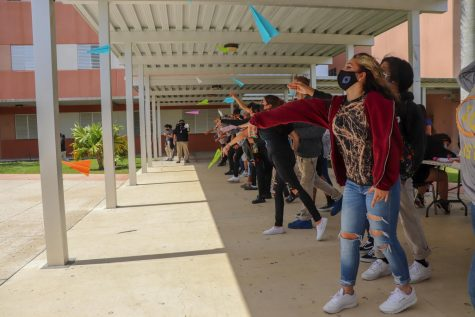 Paper Airplane Competition Sees Students Taking Flight Before Summer